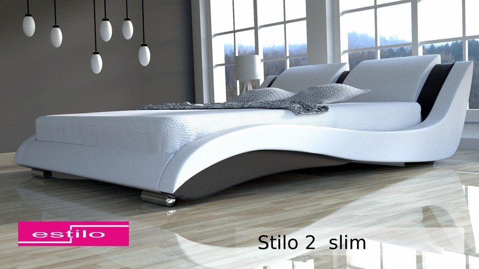 Łóżko do sypialni Stilo-2 Slim